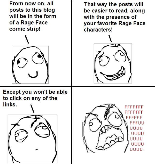 rage face blog